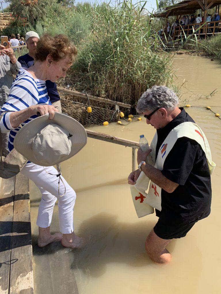 PILGRIMAGE RENEWAL OF BAPTISM AT THE JORDAN RIVER